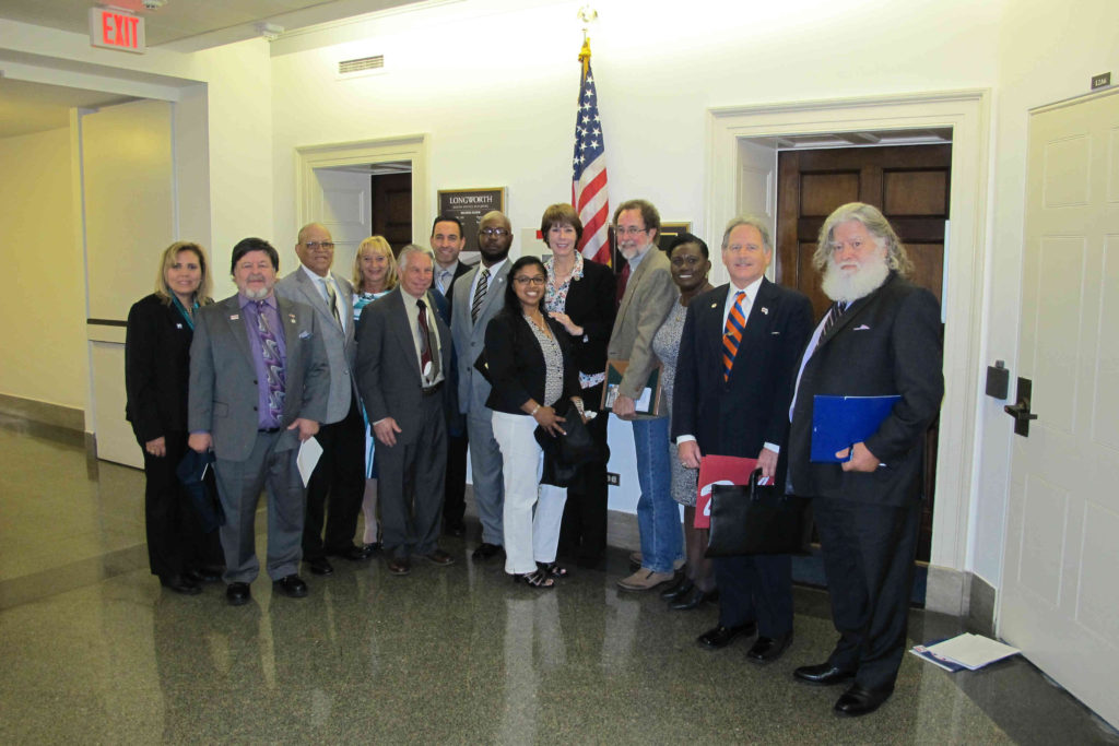FSALC members visit with Congresswoman Gwen Graham